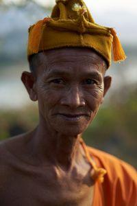 Old Monk in Luang Prabang