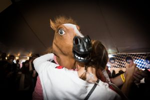 Dances with Horse, Leavenworth WA, October 2013