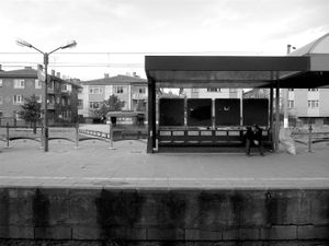 Sincan train station near Ankara.