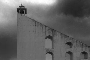 Jantar Mantar against the monsoon