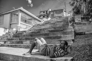 Escalinata de Tomas Padro entre Princesa y Santa Rosa, 2014