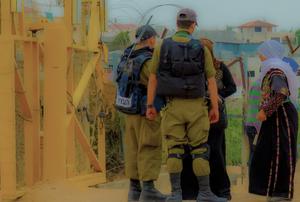 Nabi Saleh Ckeckpoint