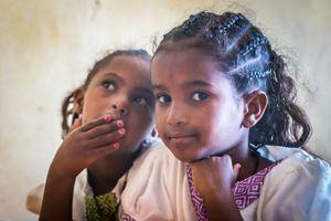 Schoolgirls, Lalibela,  Ethiopia