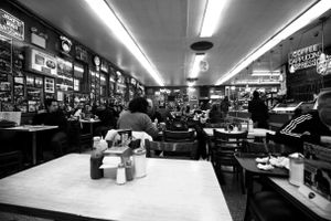 Meeting at the deli's