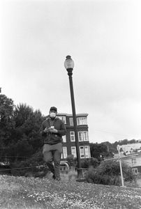 Man with Lamppost