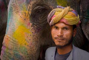Elephant Mahout, Jaipur. India