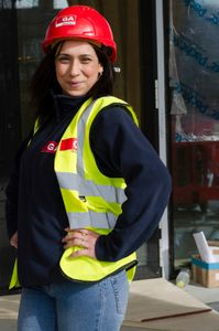 Georgina is from Bulgaria and  enjoys her job with Gilbert-Ash. Her sister works for the company too.