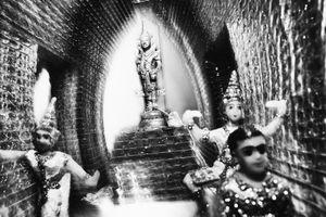 Interior of a Memorial Shrine