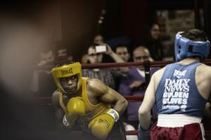 Boxers: Gleasons Gym, Brooklyn, New York