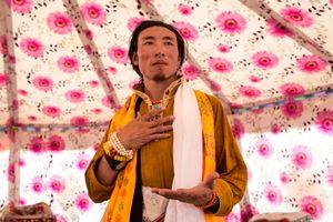 Tibetan Folk Singer.