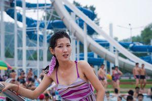 Outdoor pool in Pyongyang, August 12th, 2012.