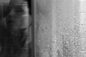 Anja - showering