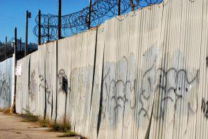 Graffiti Fence