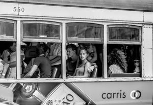 The Girl On The Tram