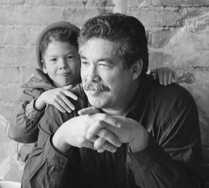 Thomas King (and Ben), Writer, Toronto, 1993