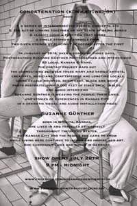INVITATION FOR CONCATENATION  JULY 29TH, 2016                                         KANSAS CITY, MISSOURI