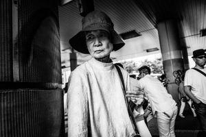 The Shibuya Shadow Lady - Tokyo, 2017