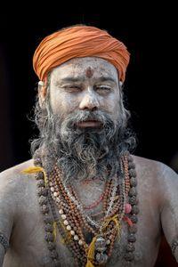 Sadhu portrait 02