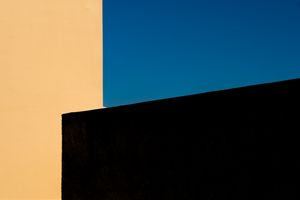 Walls and sky