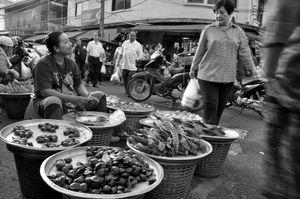 Petai Seller in Hatyai