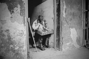 Havana Street Seller