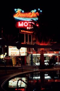 Desert Isle Motel, Las Vegas, Nevada, 1979. Courtesy of Luïscius.