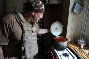 Cooking Borscht in Avdiivka