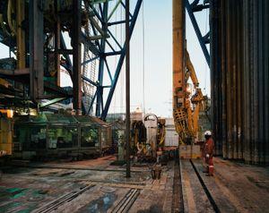 Drilling Deck, Chikyu