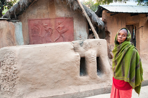 Sonajhuri village, near Santiniketan, West Bengal