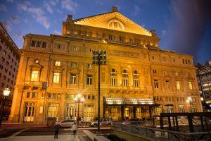 "The ""Colón"" theatre"