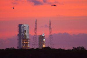 Orion / EFT1- Launch Attempt #1
