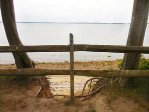 Cedar Point Bluff Fence