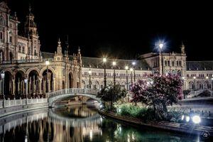Plaza de España - Walk by night 2
