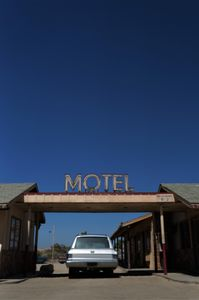 Motel in High Desert