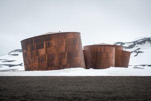Whaling station - Deception Island, Antarctica