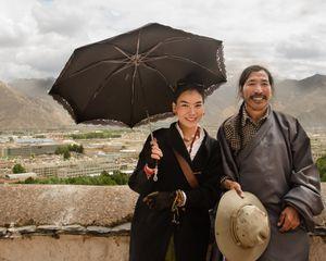 A Tibetan Couple
