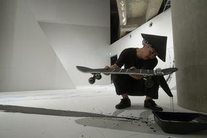 "Skateboarding calligraphy ""FREEHAND""by Takahiro Morita _4"