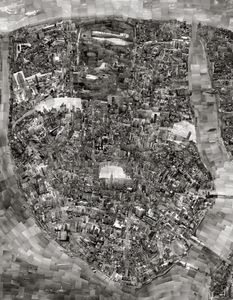 Diorama Map New York City © Sohei Nishino/Courtesy of Michael Hoppen Contemporary