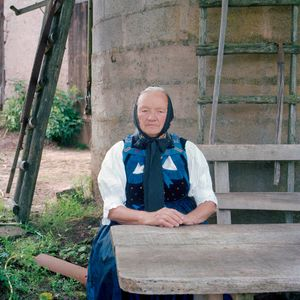 Maria Schillinger, Black Forest, 2013. From the series: The last women in their traditional peasant garbs