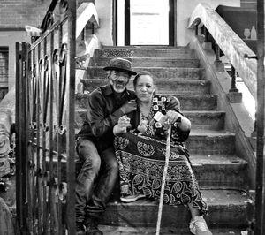 The loving couple