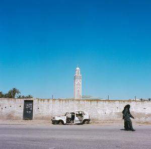 On the street in Casablanca
