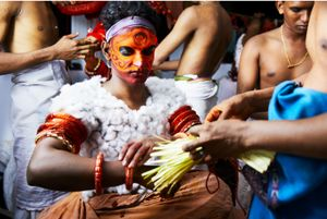 Behind The Scenes of Theyyam in Kunnar