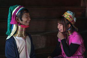 Long Neck Woman from Kayan Tribe Myanmar