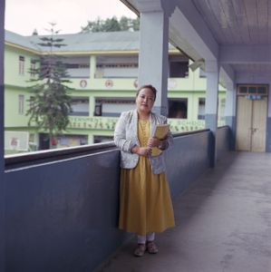 "Pooja Rai, school teacher. From the series ""Homebodies""."
