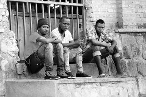 Rwandan Boys born from genocide