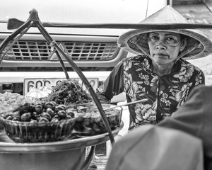 Street Merchant, Binh Tay Market, Saigon