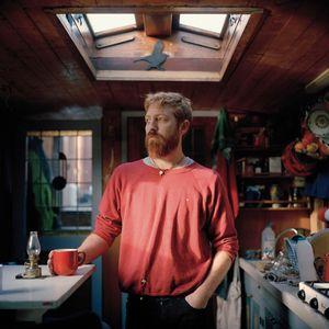 Josh lives with his girlfriend on a Dutch barge that they are currently renting from a friend. They chose to live on a boat to be closer to a more natural rhythm of life whilst living in London. © Carl Bigmore