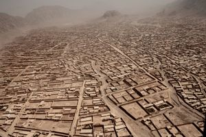 A view of the northern outskirts of Kandahar City in Afghanistan, on Thursday, September 6, 2010. © Adam Ferguson