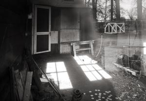 Workshop Interior Through a Window, 12 27 20