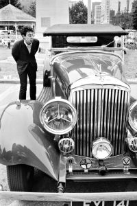 Vintage Car Show, Toronto, Canada,1986